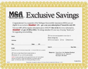 Steal of a deal for MSA members!